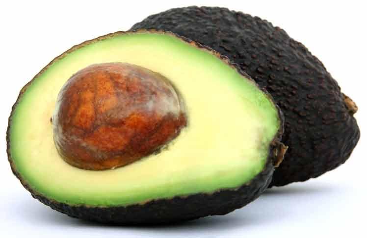 Avocado gevuld met Hammousse